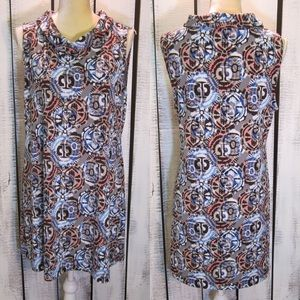 Alfani Colorful Patterned Dress L